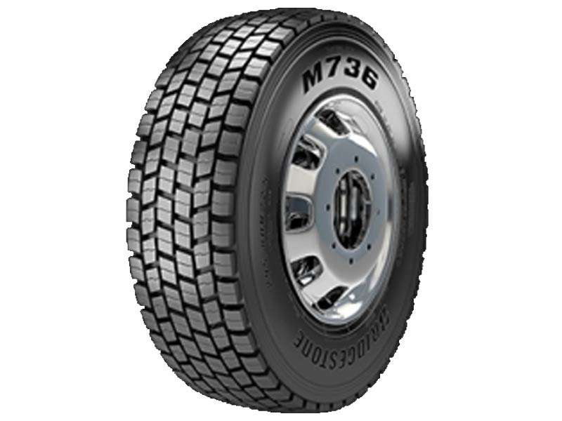 PNEU BRIDGESTONE M736 BORRACHUDO 295/80 R 22.5