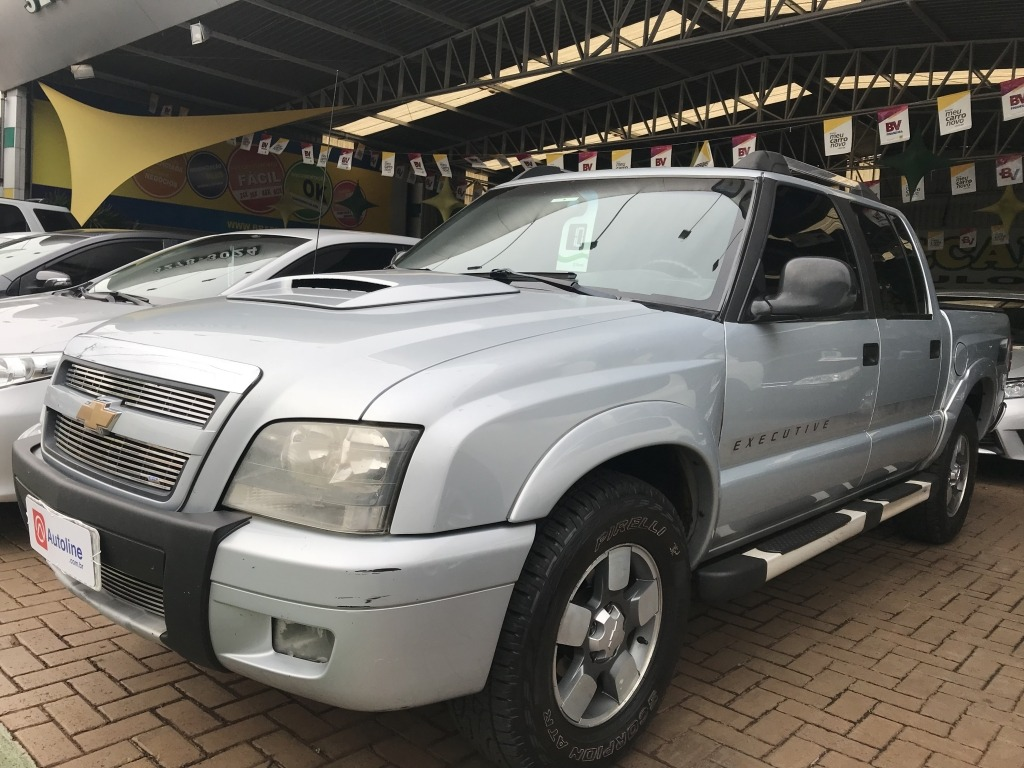 S10 EXECUTIVE 4X4 2.8 TURBO ELECTRONIC (CAB DUPLA)