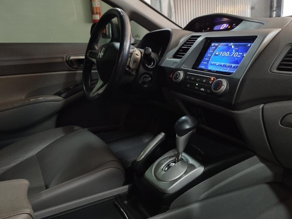 NEW CIVIC LXL 1.8 16V (COURO) (AUT) (FLEX) 2011